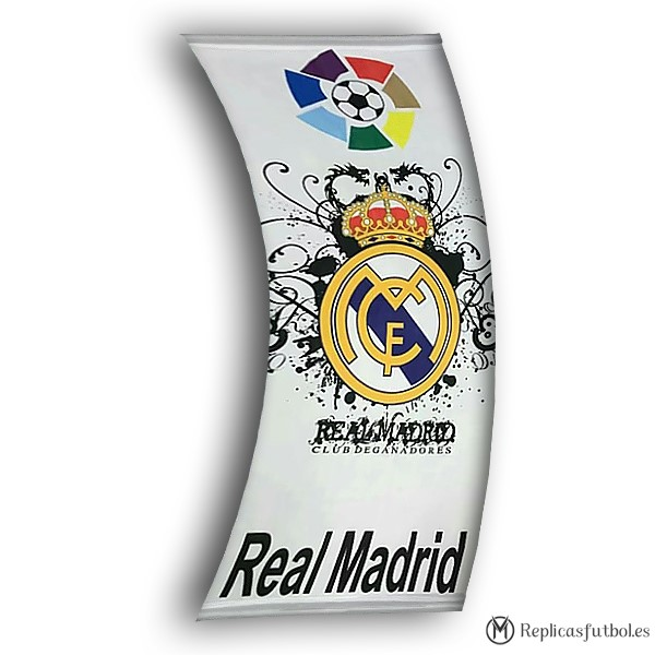 Bandera Real Madrid Blanco Replicas Futbol
