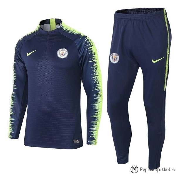 Chandal Manchester City 2018/2019 Azul Replicas Futbol