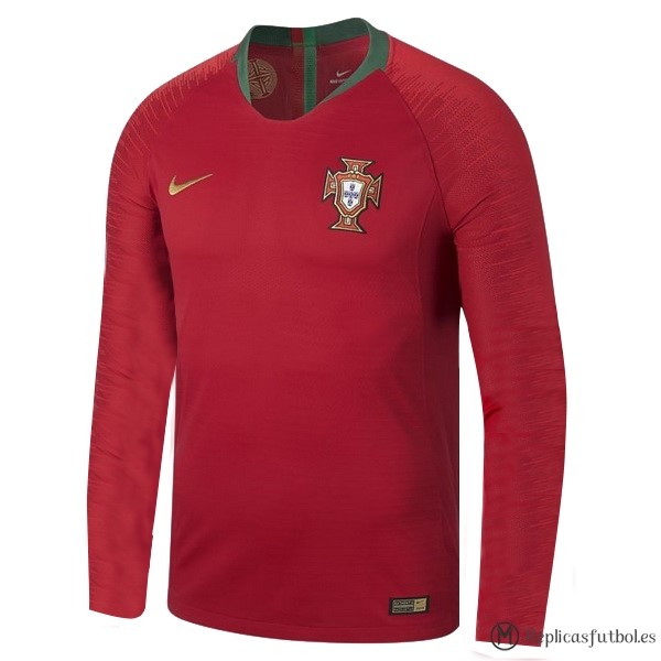 Camiseta Seleccion Portugal Primera ML 2018 Rojo Replicas Futbol