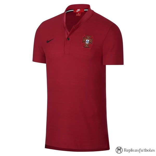 Polo Portugal 2018 Rojo Replicas Futbol