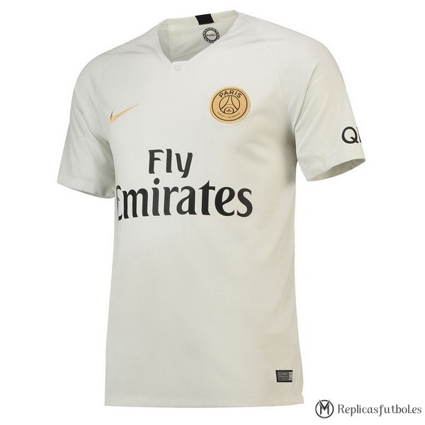 Camiseta Paris Saint Germain Segunda 2018/2019 Blanco Replicas Futbol