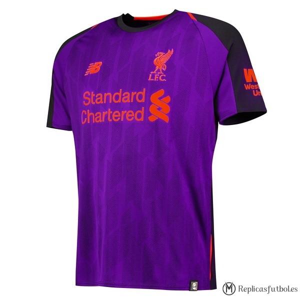 272e967a0cd7a Tailandia Camiseta Liverpool Segunda 2018 2019 Purpura Replicas Futbol
