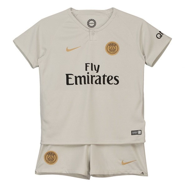 Camiseta Paris Saint Germain Segunda Niños 2018/2019 Blanco Replicas Futbol