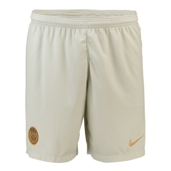 Pantalones Paris Saint Germain Segunda 2018/2019 Blanco Replicas Futbol