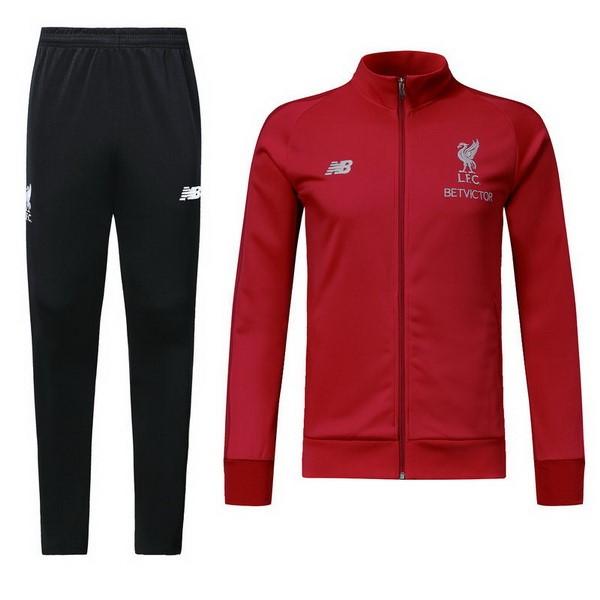 Chandal Liverpool 2018 2019 Rojo Negro Replicas Futbol 23178588ed8ef