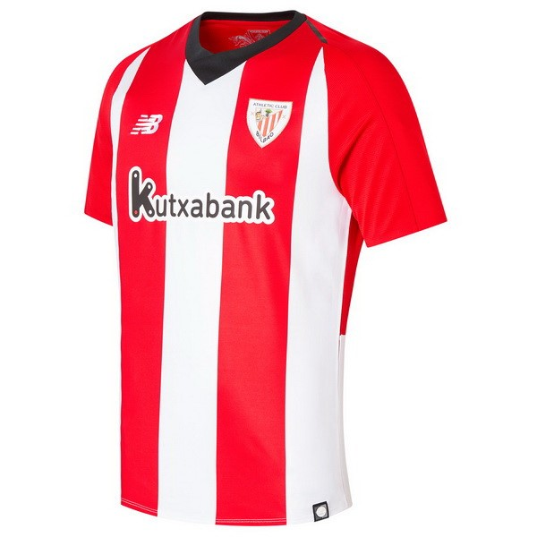 Camiseta Athletic Bilbao Primera 2018/2019 Rojo Blanco Replicas Futbol