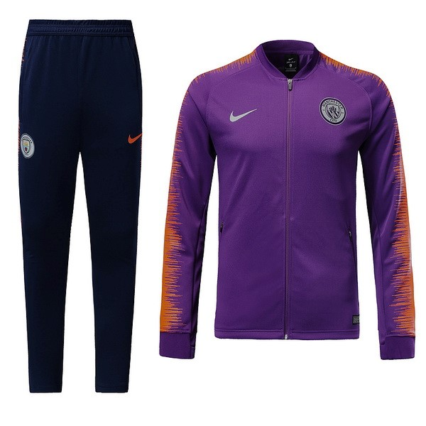 Chandal Manchester City 2018/2019 Purpura Replicas Futbol