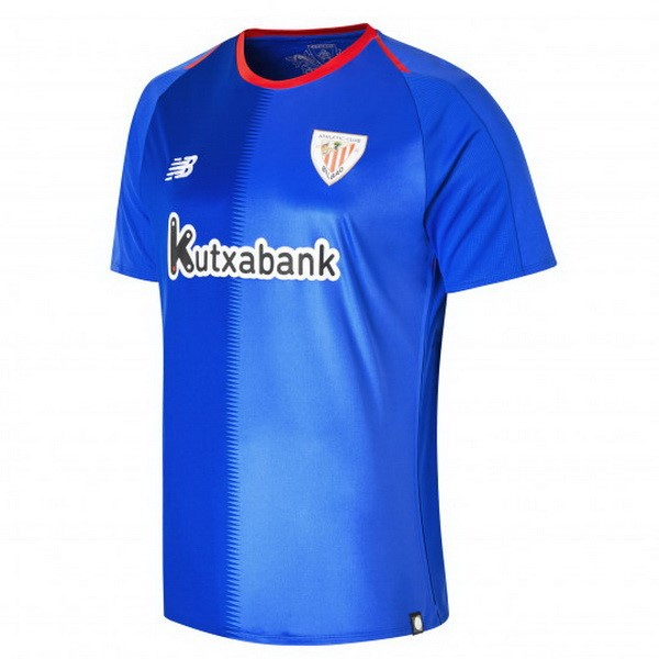 Camiseta Athletic Bilbao Segunda 2018/2019 Azul Replicas Futbol