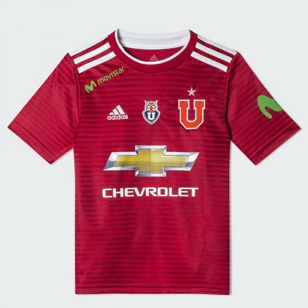 Camiseta Universidad De Chile Segunda 2018/2019 Rojo Replicas Futbol