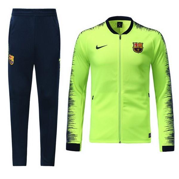 Chandal Barcelona 2018 2019 Verde Replicas Futbol 58718e065bc98