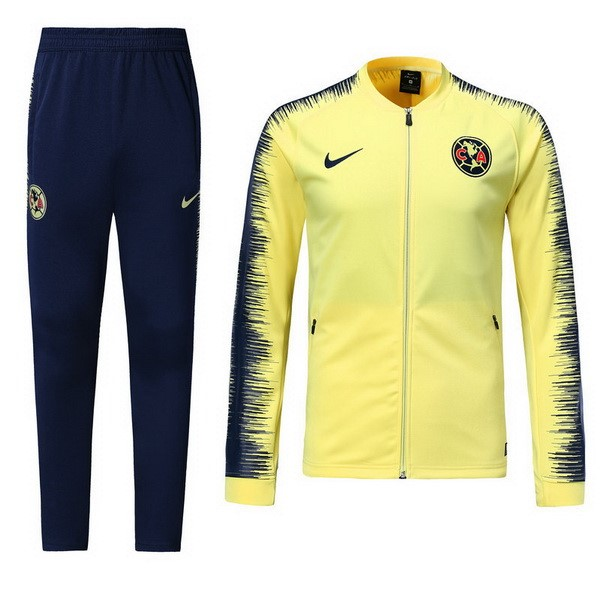 Chandal Club América 2018/2019 Amarillo Replicas Futbol