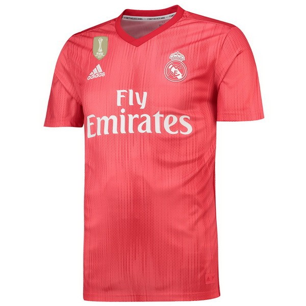 Camiseta Real Madrid Tercera 2018/2019 Rojo Replicas Futbol