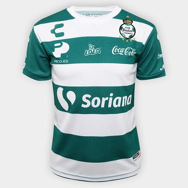 Camiseta Santos Laguna Primera 2018 2019 Blanco Replicas Futbol e63db8212ff20