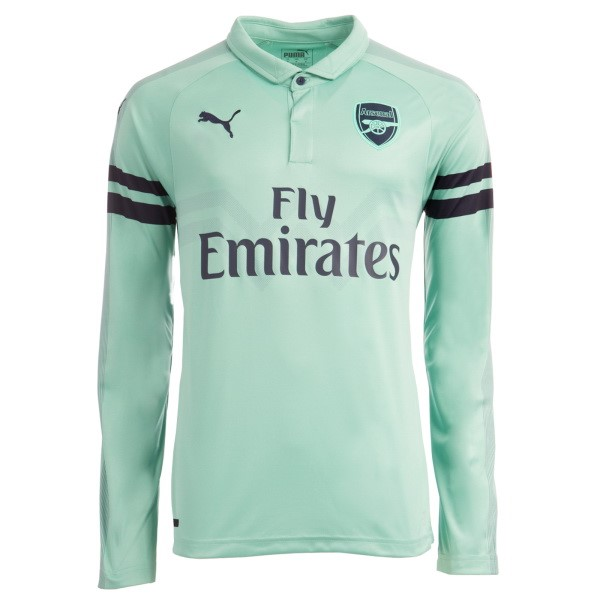 Camiseta Arsenal Tercera ML 2018/2019 Verde Replicas Futbol