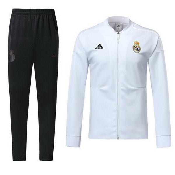 39a3cd1d750af Chandal Real Madrid 2018 2019 Blanco Negro Replicas Futbol