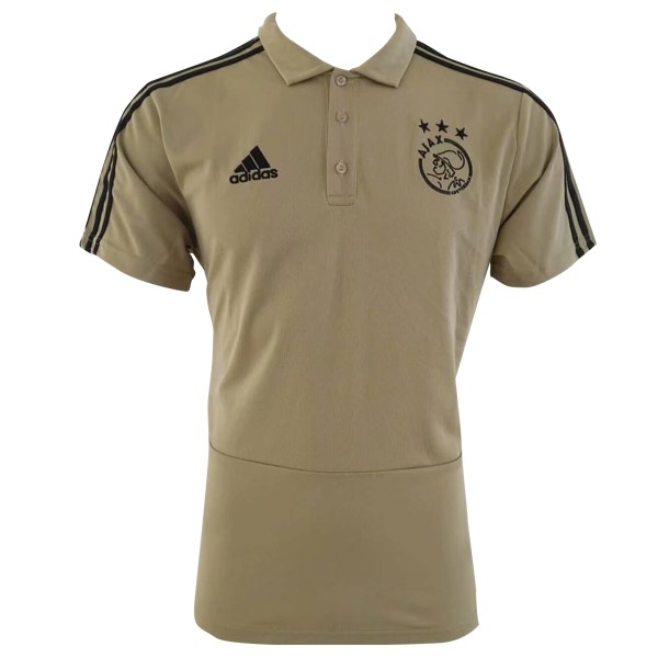 Polo Ajax 2018/2019 Marron Replicas Futbol
