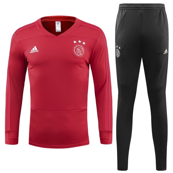 Chandal Ajax 2018/2019 Rojo Replicas Futbol