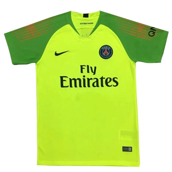 Camiseta Paris Saint Germain Portero 2018/2019 Verde Replicas Futbol