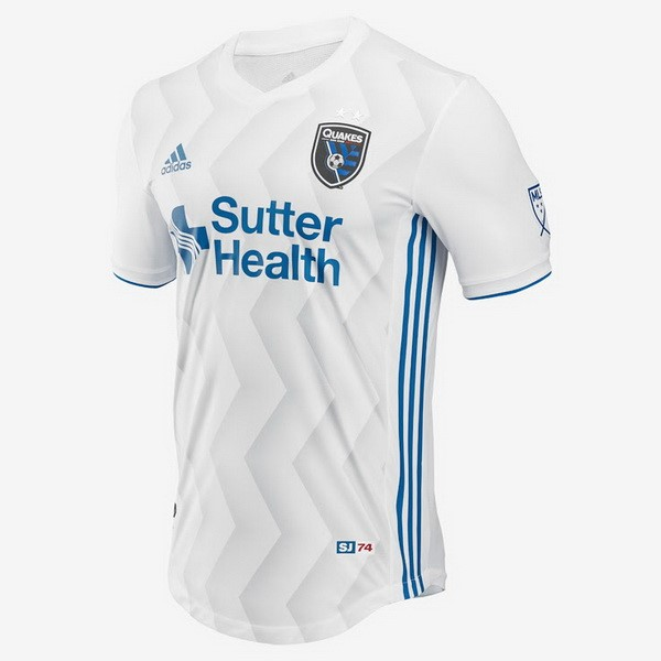 Camiseta San Jose Earthquakes Segunda 2018/2019 Blanco Replicas Futbol