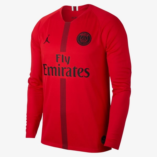 JORDAN Camiseta Paris Saint Germain ML Portero 2018/2019 Rojo Replicas Futbol