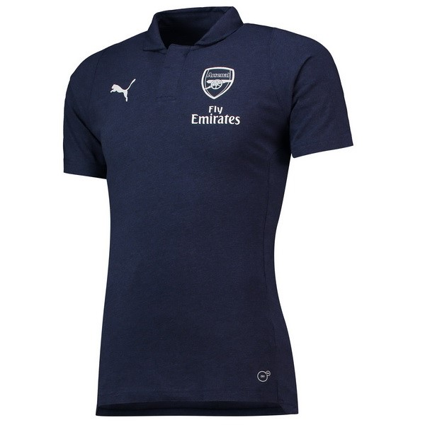 Polo Arsenal 2018/2019 Azul Replicas Futbol