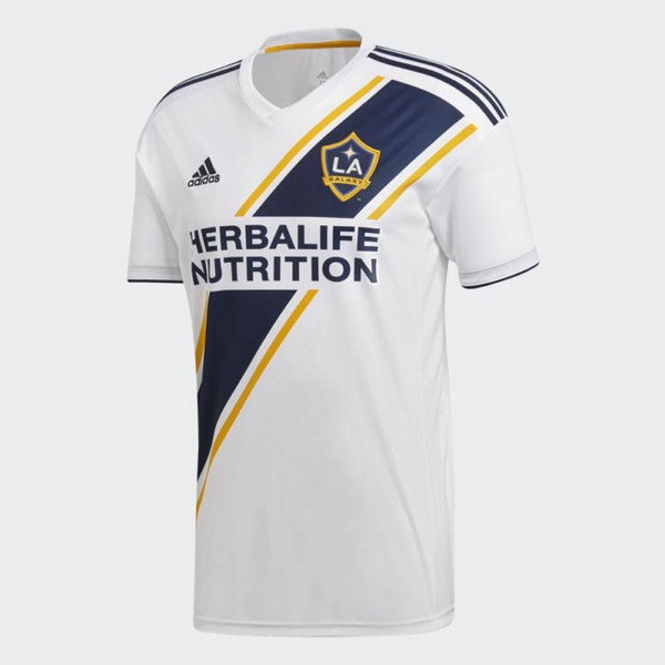 Camiseta Los Angeles Galaxy Primera 2018 2019 Blanco Replicas Futbol 94c517ce7664b