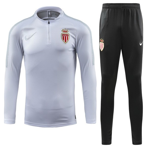 Chandal AS Monaco 2018/2019 Blanco Replicas Futbol