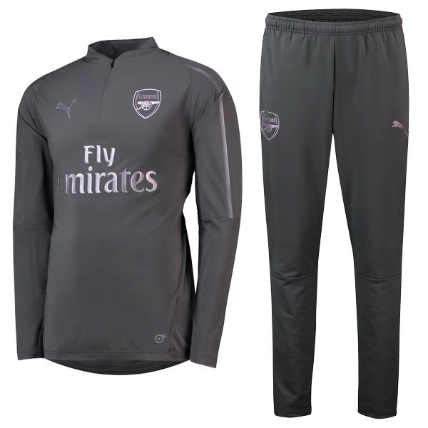 Chandal Arsenal 2018/2019 Gris Replicas Futbol