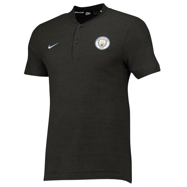 Polo Manchester City 2018/2019 Gris Replicas Futbol