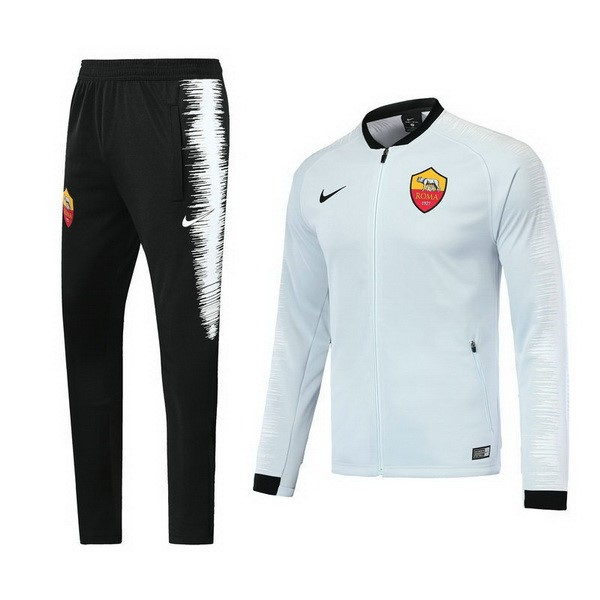 Chandal AS Roma 2018/2019 Blanco Replicas Futbol