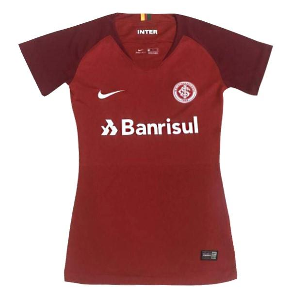 99c0d51a86ac2 Camiseta Internacional Primera Mujer 2018 2019 Rojo Replicas Futbol