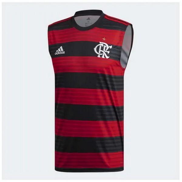 21d49c7ad6 Camiseta Sin Mangas Flamengo 2018 2019 Rojo Replicas Futbol