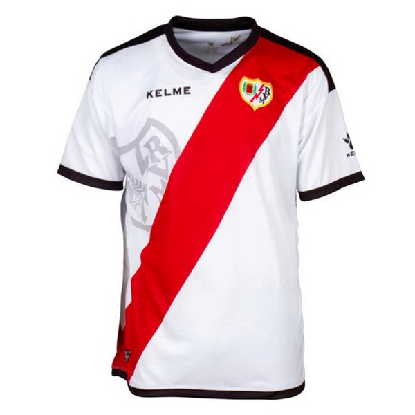 Camiseta Rayo Vallecano de Madrid Primera 2018/2019 Blanco Replicas Futbol