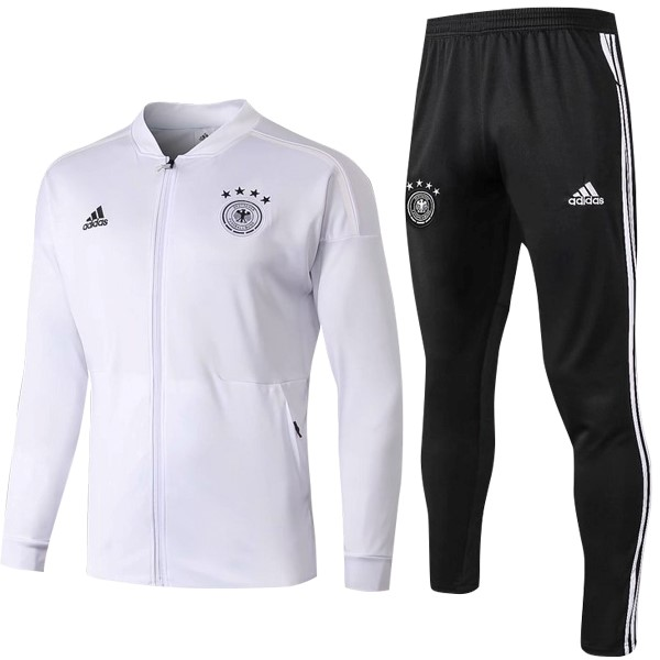 Chandal Alemania 2018 Blanco Negro Marino Replicas Futbol 4717392518ee8