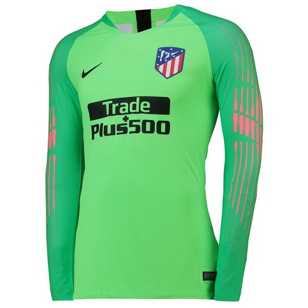 Camiseta Atletico Madrid ML Portero 2018/2019 Verde Replicas Futbol