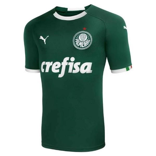 Camiseta Palmeiras Primera 2019 2020 Verde Replicas Futbol 99694282431b7