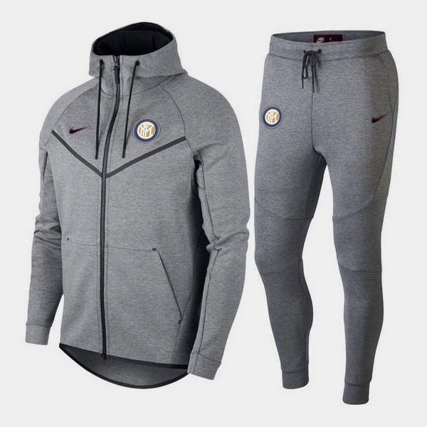 Chandal Inter Milan 2018/2019 Gris Replicas Futbol