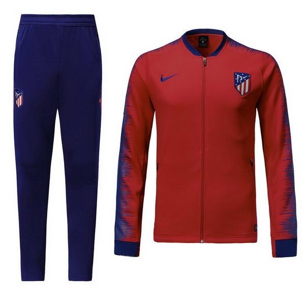 Chandal Niños Atletico Madrid 2018 2019 Rojo Replicas Futbol c226ee4afa424