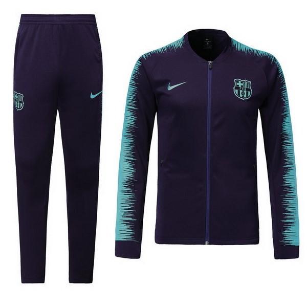 Chandal Niños Barcelona 2018 2019 Negro Azul Replicas Futbol cc3cda95a0d