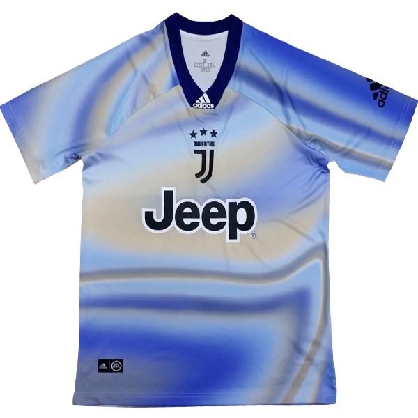 EA Sport Camiseta Juventus 2018 2019 Azul Replicas Futbol da45be0fe7472