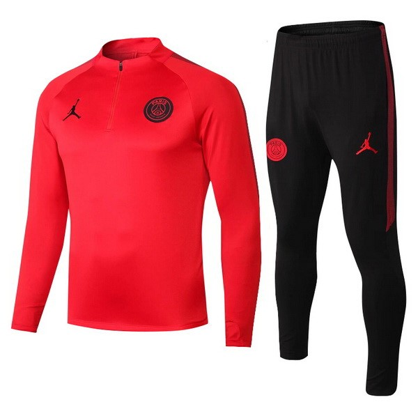 JORDAN Chandal Niños Paris Saint Germain 2018/2019 Rojo Replicas Futbol