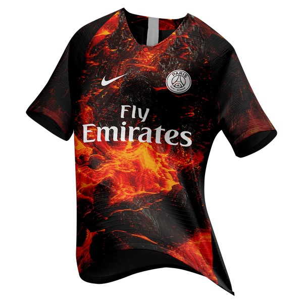 EA Sport Camiseta Paris Saint Germain 2018/2019 Naranja Replicas Futbol