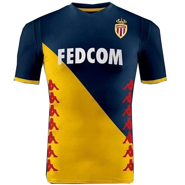 Camiseta AS Monaco Segunda 2019/2020 Amarillo Replicas Futbol