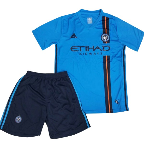 Camiseta New York City Primera Niños 2019/2020 Azul Replicas Futbol
