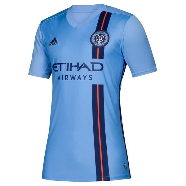 Camiseta New York City Primera Mujer 2019/2020 Azul Replicas Futbol