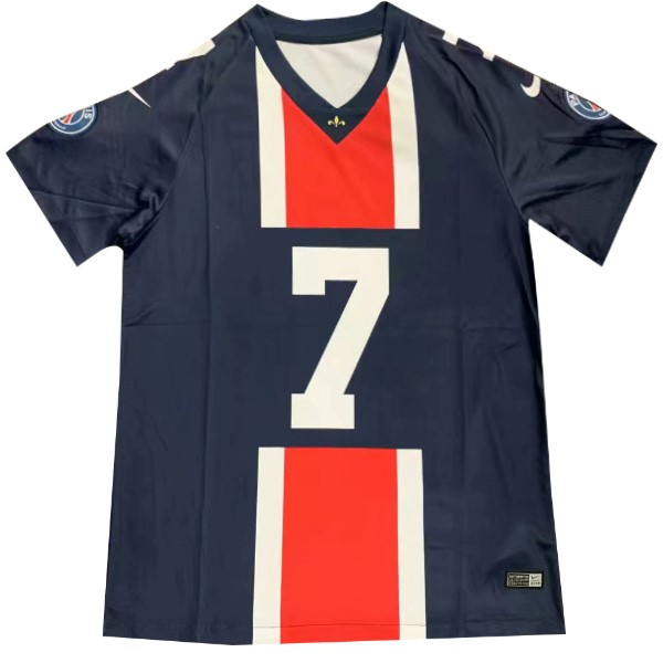 NFL Camiseta Paris Saint Germain MBAPPE NO.7 2019/2020 Azul Replicas Futbol