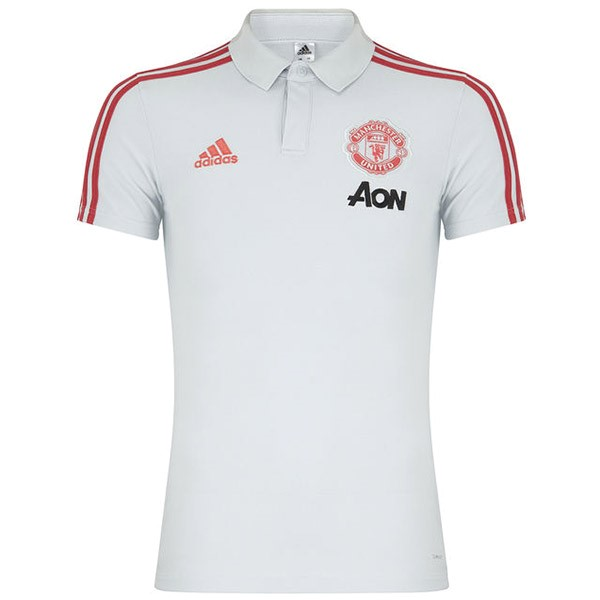 Polo Manchester United 2019/2020 Blanco Replicas Futbol
