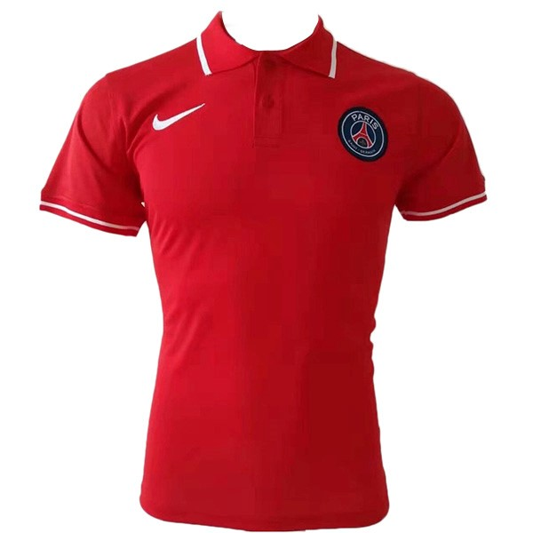 Polo Paris Saint Germain 2019/2020 Rojo Replicas Futbol