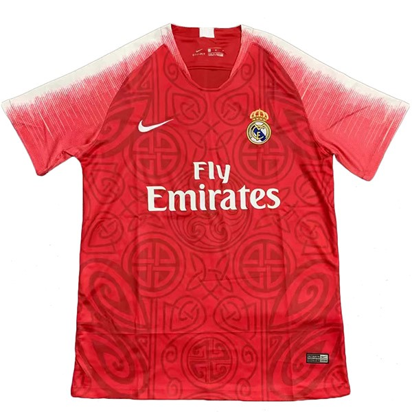 Camiseta Real Madrid Concepto 2019/2020 Rojo Replicas Futbol