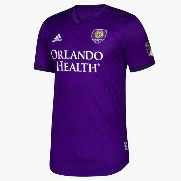 Camiseta Orlando City Primera 2019/2020 Purpura Replicas Futbol